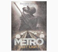 Enter The Metro - Fan Poster T-Shirt