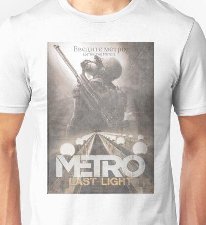 Enter The Metro - Fan Poster Unisex T-Shirt
