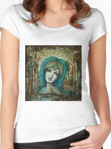 **Willow** Women's Fitted Scoop T-Shirt
