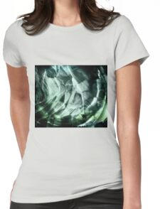 Cavern (jade) Womens Fitted T-Shirt
