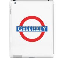 London Underground Gallifrey iPad Case/Skin