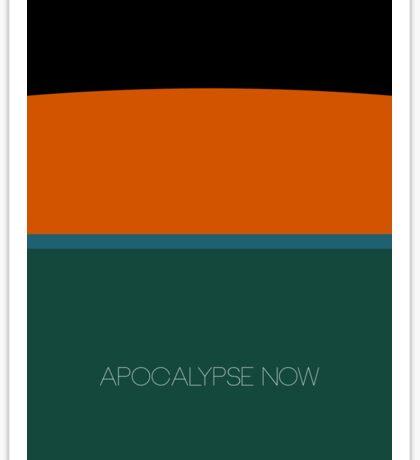 Apocalypse Now alternative movie poster Sticker