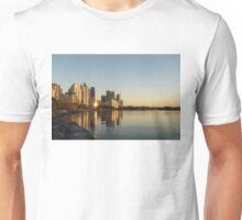 Reflected Sunrise - Marina Del Rey Waterfront Living in Toronto Unisex T-Shirt