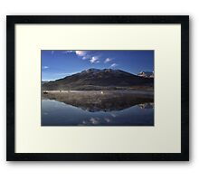 Reflections in the Loch Framed Print