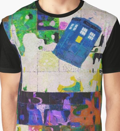 Tardis (abstract-informel-tachisme) Graphic T-Shirt