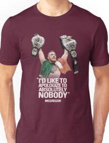 McGregor - Apologize to Nobody Unisex T-Shirt