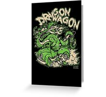 Dragon Wagon Greeting Card
