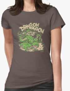 Dragon Wagon Womens Fitted T-Shirt