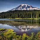 Mt Rainier by Kathy Weaver