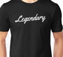 Legendary - White Unisex T-Shirt
