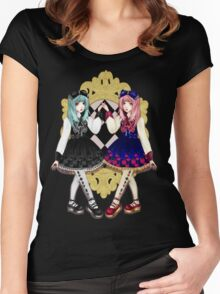 Twins lolitas Women's Fitted Scoop T-Shirt
