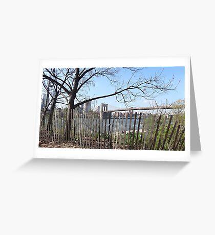 brooklyn Bridge Park Greeting Card