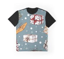 Chritmas pattern Graphic T-Shirt