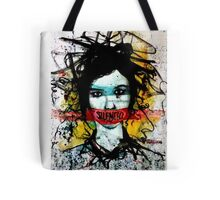 I want to scream but I have no mouth to scream with.. Tote Bag