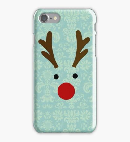 Reindeer design for Christmas iPhone Case/Skin