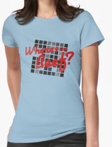 Where's the Beef? Womens Fitted T-Shirt