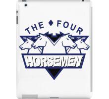 Original Four Horsemen Logo iPad Case/Skin
