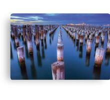 Princes Pier Melbourne Canvas Print