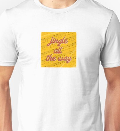 Jingle Bells #3 - A Hell Songbook Edition Unisex T-Shirt