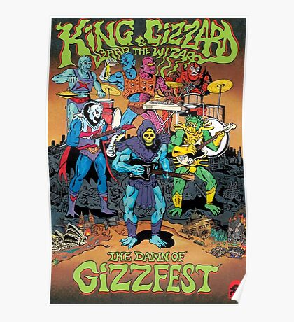 The Dawn of Gizzfest Poster