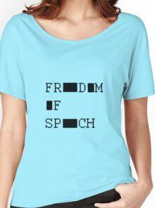 FREEDOM OF SPEECH VAR Women's Relaxed Fit T-Shirt