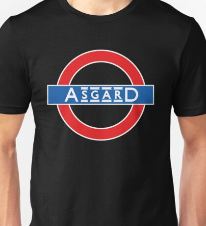 London Underground-style Asgard Unisex T-Shirt