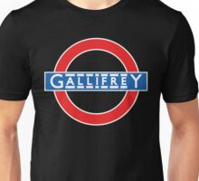 London Underground Gallifrey Unisex T-Shirt