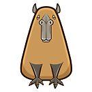 Capybara by DocHackenbush