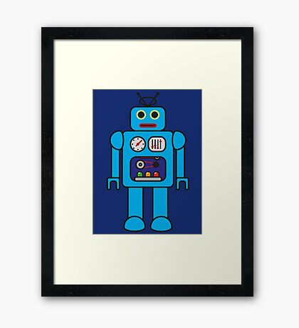I AM ROBOT Framed Print