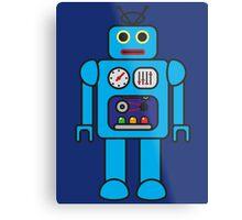 I AM ROBOT Metal Print