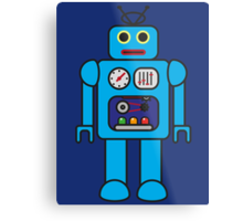 I AM ROBOT Metal Print