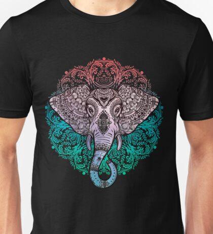 ELEPHANT MANDALA Unisex T-Shirt
