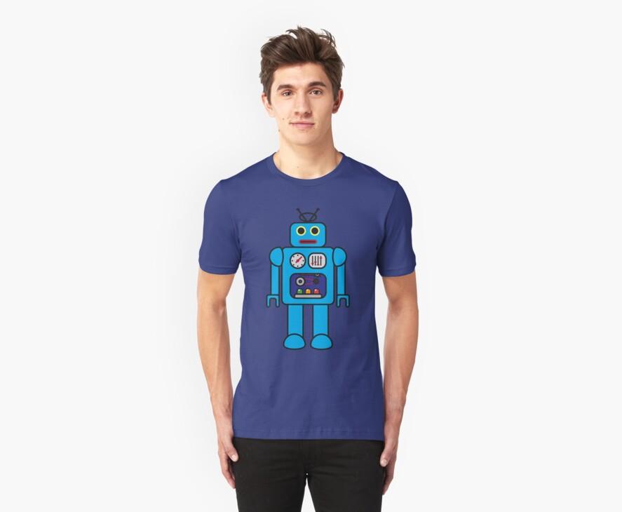 I AM ROBOT by dukepope