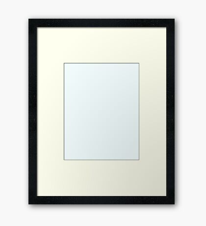 Icy White - Christmas Limited Edition Framed Print