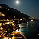La Luna Di Positano by phil decocco