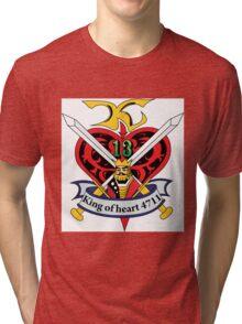 G Gundam King of Hearts Tri-blend T-Shirt