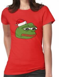 Christmas Pepe Womens Fitted T-Shirt