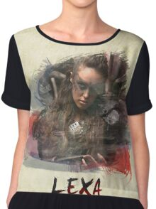 Lexa - The 100 -1 Chiffon Top