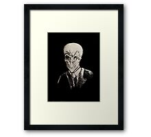 The Silence Framed Print