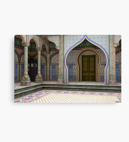 Tardis-India Canvas Print