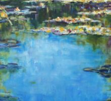 Reflections & Lilies, Giverny Sticker