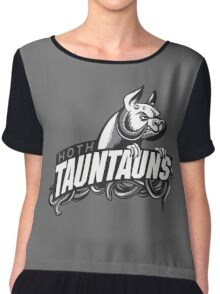 HOTH TAUNTAUNS FOOTBALL TEAM Chiffon Top