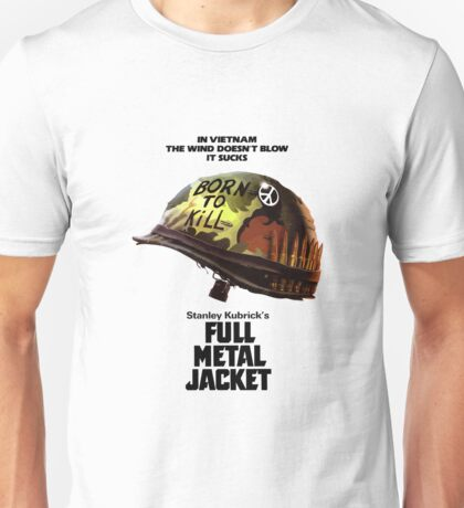 Full Metal Jacket Black Unisex T-Shirt