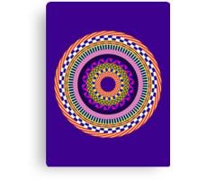 Funky Mandala Canvas Print