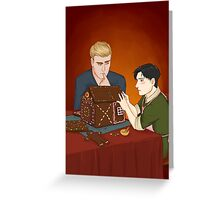 Eruri and the Gingerbread House Greeting Card