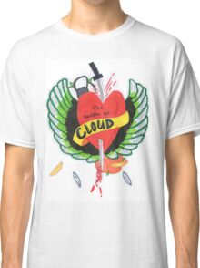 Heart Stabbed - Final Fantasy VII The Sacrifice Of Cloud - Name Banner 'CLOUD' Classic T-Shirt