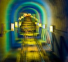 Funicular Tunnel by phil decocco