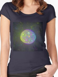 I also have another planet. #Fractal Art Women's Fitted Scoop T-Shirt