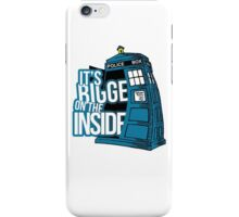 Its Bigger On The Inside iPhone Case/Skin