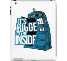 Its Bigger On The Inside iPad Case/Skin